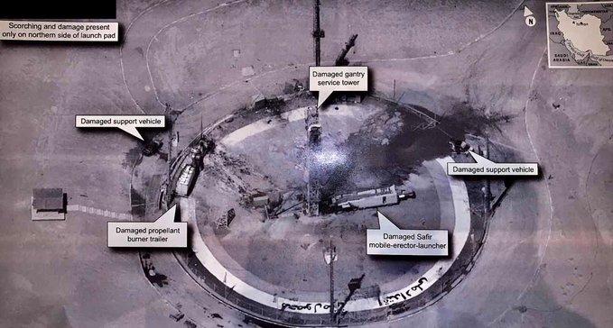هل باتت أسرار التجسس الأمريكية في خطر بعد نشر ترامب صورة لموقع إطلاق إيراني؟ Image