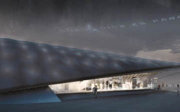 الصورة: الصورة: ظلال تشيلي تجمع الأفراد تحت سقف واحد في إكسبو