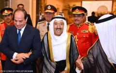 الصورة: الصورة: السيسي: أمن الخليج من أمن مصر