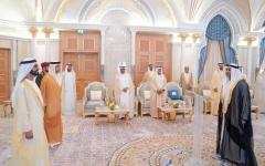 الصورة: الصورة: محمد بن راشد لسفراء الإمارات: كونوا رسل محـبة وسـلام وتسامح