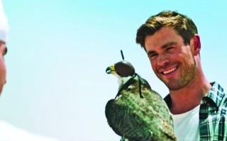 الصورة: الصورة: الخارق «ثور» يروّج لعقارات دبي