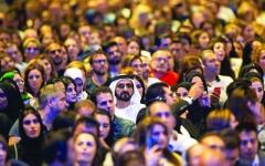 الصورة: الصورة: محمد بن راشد: الإمارات قصة إلهام مستمرة
