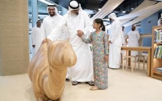 الصورة: الصورة: خالد بن محمد بن زايد: أبوظبي نحو دور ثقافي محوري