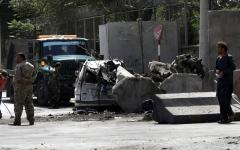 الصورة: الصورة: الإمارات: هجوم «طالبان» في كابول تصعيد غير مقبول للعنف