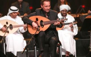 الصورة: الصورة: نصير شمّة يفتتح عروض المسرح الجديد في المجمّع الثقافي