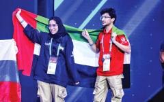 الصورة: الصورة: مسؤولون: إنجازات «أبوظبي التقني» تتويج لنجاحات القيادة في التعليم المتخصص