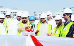الصورة: الصورة: محمد بن راشد: مترو دبي نجاح لجرأتنا في ريادة المستقبل