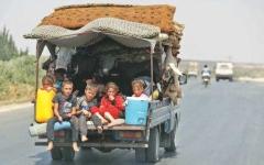 الصورة: الصورة: أطفال الشرق السوري معاناة مستمرة بانتظار المدرسة المفقودة