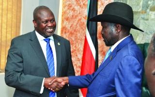 الصورة: الصورة: حكومة انتقالية في جنوب السودان بحلول نوفمبر