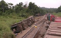 الصورة: الصورة: 50 قتيلاً في حادث قطار مروع بالكونغو