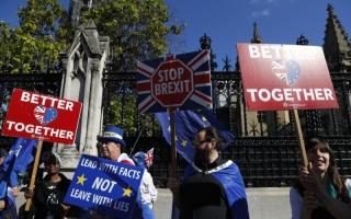 الصورة: الصورة: جونسون: بريطانيا مستعدة لـ«بريكست» دون اتفاق