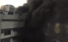الصورة: الصورة: بالفيديو.. مقتل 10 أشخاص إثر حريق بمستشفى في البرازيل