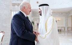 الصورة: الصورة: محمد بن زايد: الإمارات تتبنَّى التعاون والشراكة عالمياً