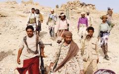 الصورة: الصورة: التحالف يدمر مواقع للحوثي في الجوف