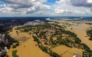الصورة: الصورة: مصرع 32 شخصاً جراء فيضانات في تايلاند