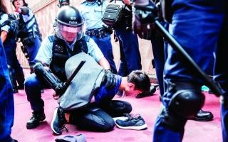 الصورة: الصورة: صدامات في هونغ كونغ