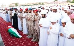 الصورة: الصورة: الإمارات تشيّع شهداء الوطن