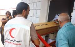 الصورة: الصورة: الإمارات تواصل تقديم قوافل الإغاثة في عدد من المحافظات اليمنية