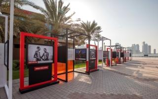 الصورة: الصورة: 89 صورة عالمية بين دبي والشارقة
