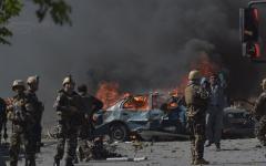 الصورة: الصورة: طالبان تعلن مسؤوليتها عن الهجوم على تجمع انتخابي تابع للرئيس الأفغاني