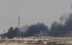 """الصورة: الصورة: مسؤول أمريكي: هجوم """"أرامكو"""" جاء من إيران بصواريخ عابرة"""