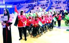 الصورة: الصورة: أصحاب الهمم يدشنون مشوارهم في ألعاب غرب آسيا بالأردن