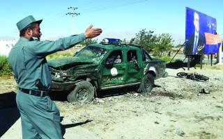الصورة: الصورة: 48 قتيلاً باعتداءين لطالبان في أفغانستان