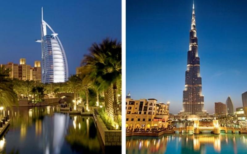 الصورة: الصورة: برجا خليفة والعرب ضمن أجمل الأبراج في العالم