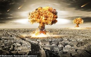 الصورة: الصورة: حرب نووية بين أمريكا وروسيا تدمر أوروبا وتقتل 34 مليوناً في ساعات