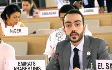 الصورة: الصورة: كلمة الإمارات في إطار الحوار التفاعلي للجنة التحقيق الدولية المستقلة بشأن سوريا