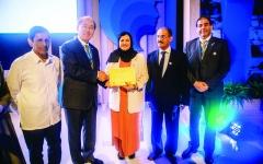 الصورة: الصورة: عائشة البوسميط أول إماراتية سفيرة بحرية للنوايا الحسنة