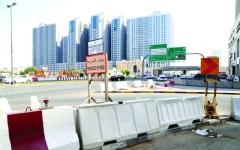 الصورة: الصورة: بدء تنفيذ مشروع تطوير جسر الراشدية في عجمان