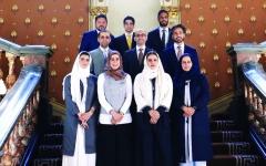 الصورة: الصورة: أعضاء لجنة دبي للاتصال الخارجي يستعرضون في لندن رؤية الإمارة للمستقبل وأبرز إنجازاتها