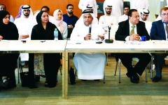 الصورة: الصورة: مجموعة الإمارات للابتكار الفضائي تناقش تطوير علوم القطاع