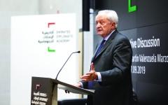 الصورة: الصورة: وزير الدولة الإسباني للشؤون الخارجية يحاضر في «الإمارات الدبلوماسية»