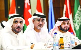 الصورة: الصورة: الشعبة البرلمانية الإماراتية تؤكد أهمية التصدي لخطر الإرهاب الإلكتروني