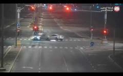 الصورة: الصورة: شرطة أبوظبي تنشر فيديو لحوادث مرعبة بسبب تجاوز الإشارة الحمراء