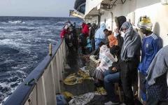 الصورة: الصورة: إيطاليا وفرنسا تتفقان على ضرورة توزيع المهاجرين على دول الاتحاد الأوروبي