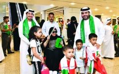الصورة: الصورة: الإمارات تدشن احتفالات اليوم الوطني السعودي 89