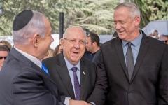 الصورة: الصورة: نتانياهو في مهب الريح.. غانتس يريد رئاسة حكومة الوحدة