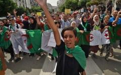 الصورة: الصورة: قايد صالح: الشعب الجزائري يأمل في الإسراع بإجراء الانتخابات