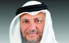 الصورة: الصورة: قرقاش: الإمارات حريصة على صيانة السلم والاستقرار الإقليمي