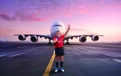 الصورة: الصورة: طيران الإمارات تطلق حملة السفر لمونديال الرجبي