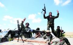 الصورة: الصورة: الجيش الليبي يشن هجوماً كبيراً على الميليشيات