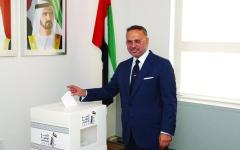 الصورة: الصورة: أنور قرقاش: الانتخابات تدعم دولة المؤسسات