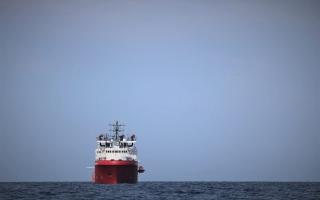 الصورة: الصورة: إيطاليا تسمح بإنزال 182 مهاجراً تم إنقاذهم في البحر المتوسط
