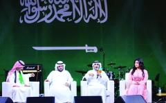 الصورة: الصورة: بيت الشعر في دبي يحتفي باليوم الوطني السعودي