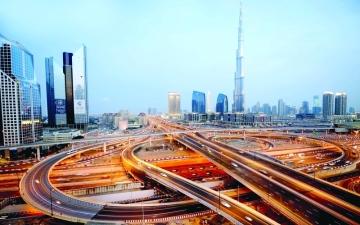 الصورة: الصورة: «طرق دبي» تفوز بجائزة «ميد» عن إدارة صيانة الجسور