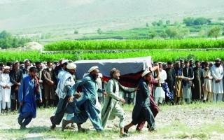 الصورة: الصورة: مقتل مسلّحَين من طالبان و9 من «داعش» باشتباكات في أفغانستان