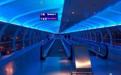 """الصورة: الصورة: إخلاء محطة قطار بمطار مانشستر للاشتباه في وجود """"طرد مشبوه"""""""